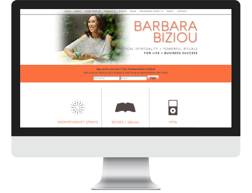 Barbara Biziou Website